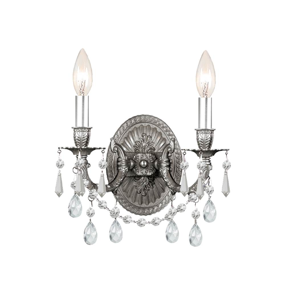 Crystorama Sconce Wall Lights item 5522-PW-CL-MWP