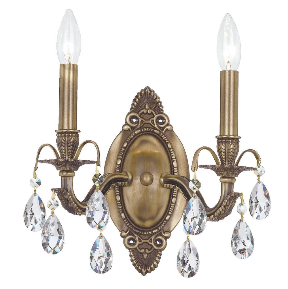 Crystorama Sconce Wall Lights item 5562-AB-CL-SAQ