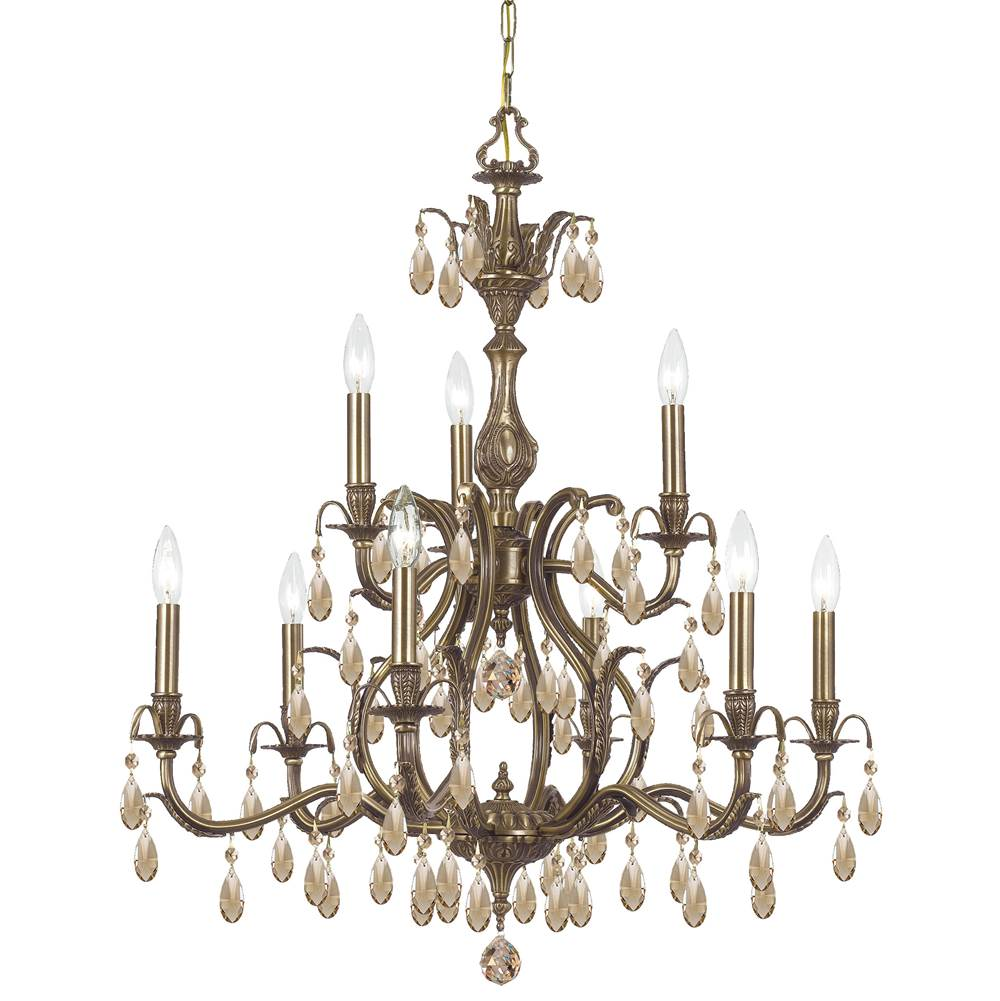Crystorama Multi Tier Chandeliers item 5569-AB-GT-MWP