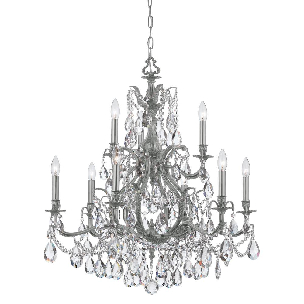 Crystorama Multi Tier Chandeliers item 5579-PW-CL-MWP
