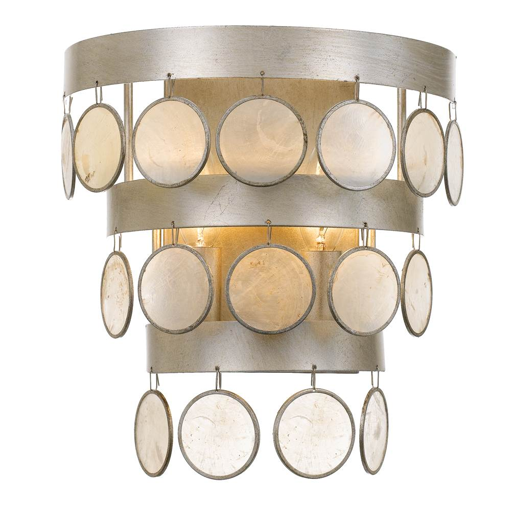 Crystorama Sconce Wall Lights item 6002-SA