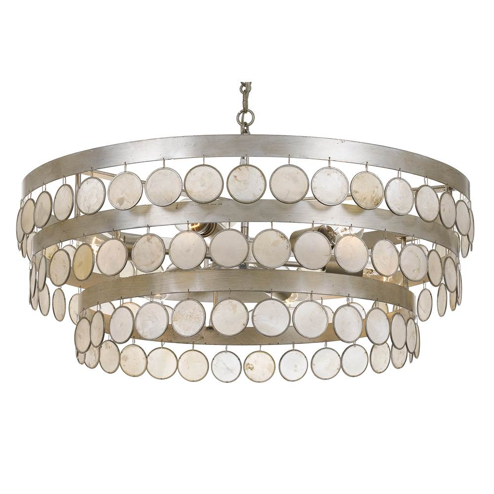 Crystorama Specialty Chandeliers Chandeliers item 6008-SA