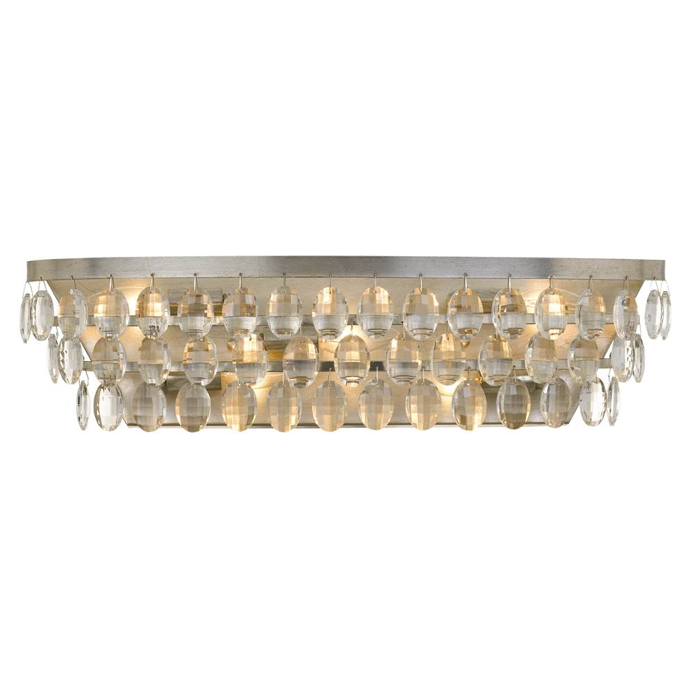 Crystorama Five Or More Vanity Bathroom Lights item 6105-SA