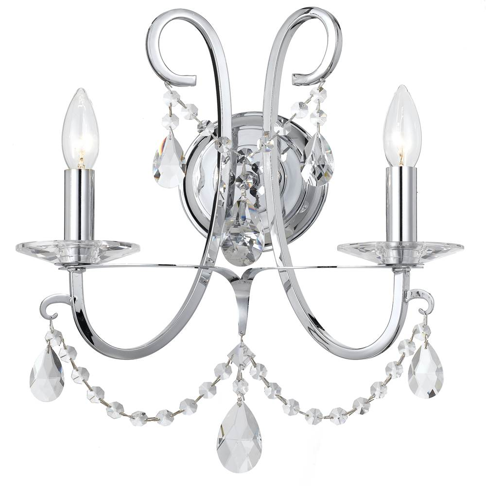 Crystorama Sconce Wall Lights item 6822-CH-CL-SAQ