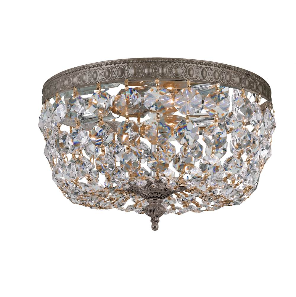 Crystorama Flush Ceiling Lights item 710-EB-CL-SAQ