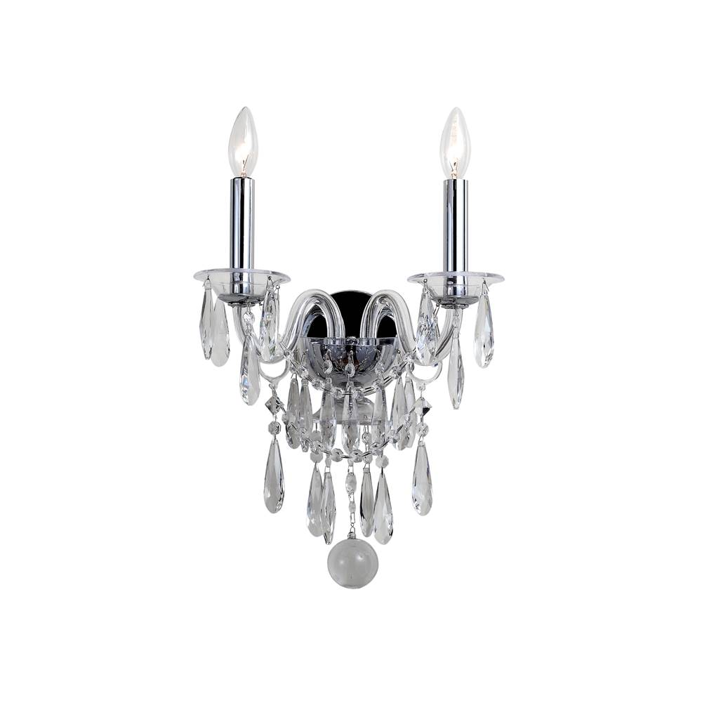 Crystorama Sconce Wall Lights item 9912-CH-CL-MWP