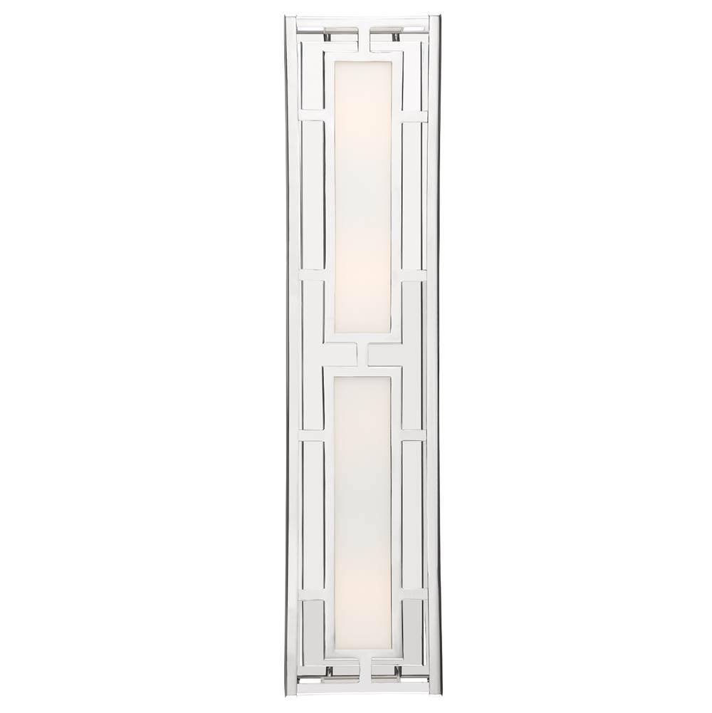 Crystorama Four Light Vanity Bathroom Lights item HIL-994-PN