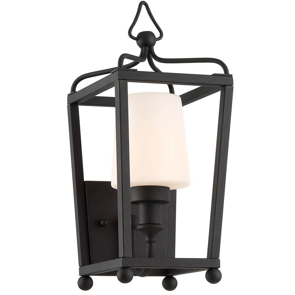 Crystorama Wall Lanterns Outdoor Lights item SYL-2211-OP-BF