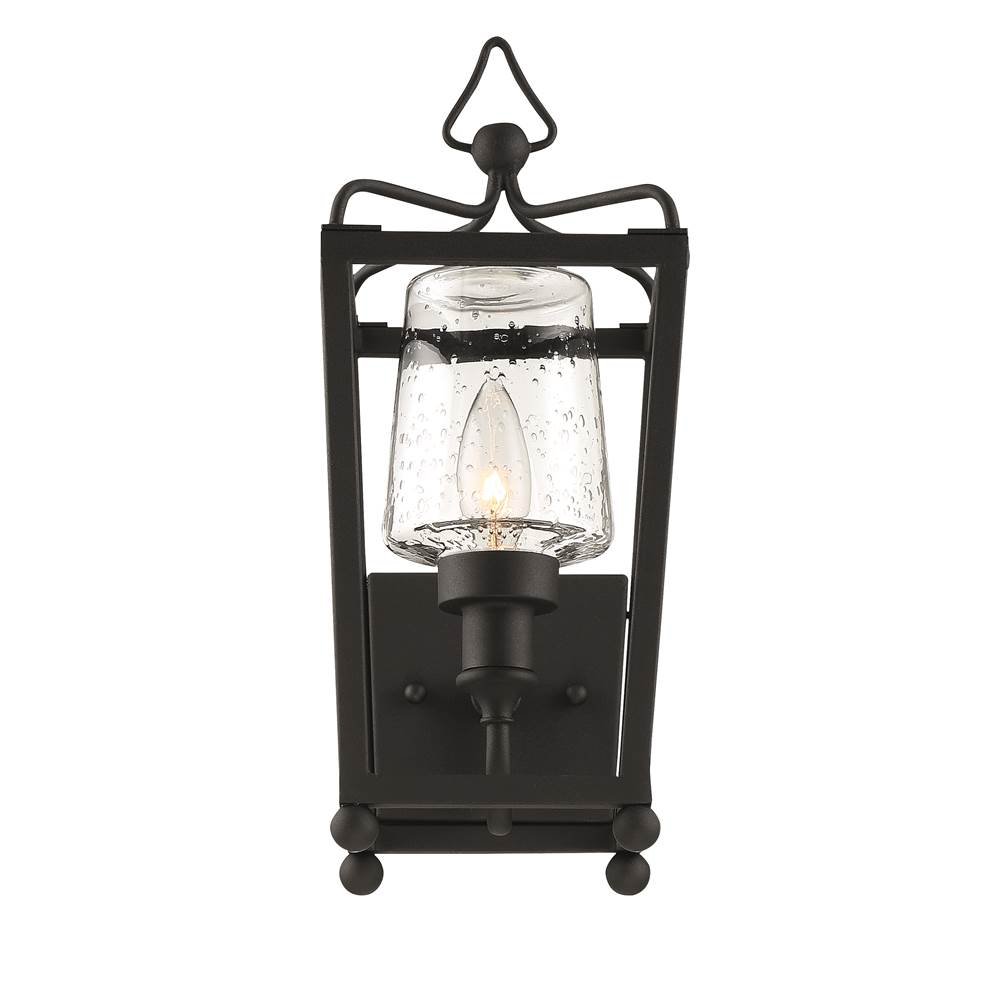 Crystorama Wall Lanterns Outdoor Lights item SYL-2211-SD-BF