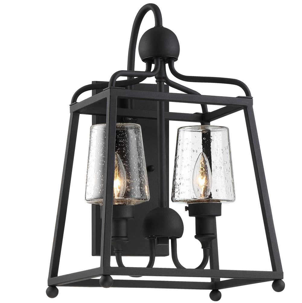 Crystorama Wall Lanterns Outdoor Lights item SYL-2282-SD-BF
