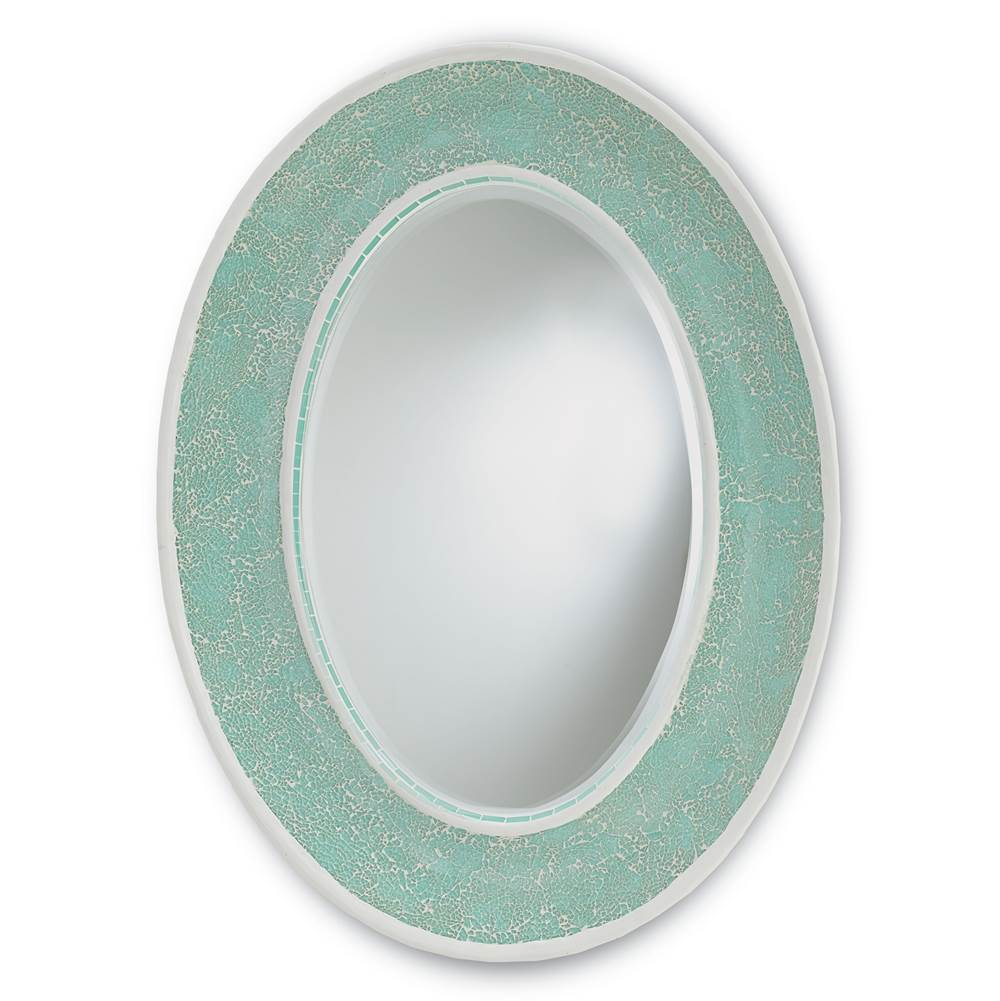 Currey And Company Oval Mirrors item 1009