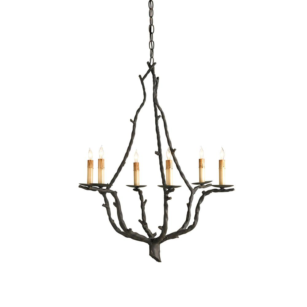 Currey And Company Single Tier Chandeliers item 9006