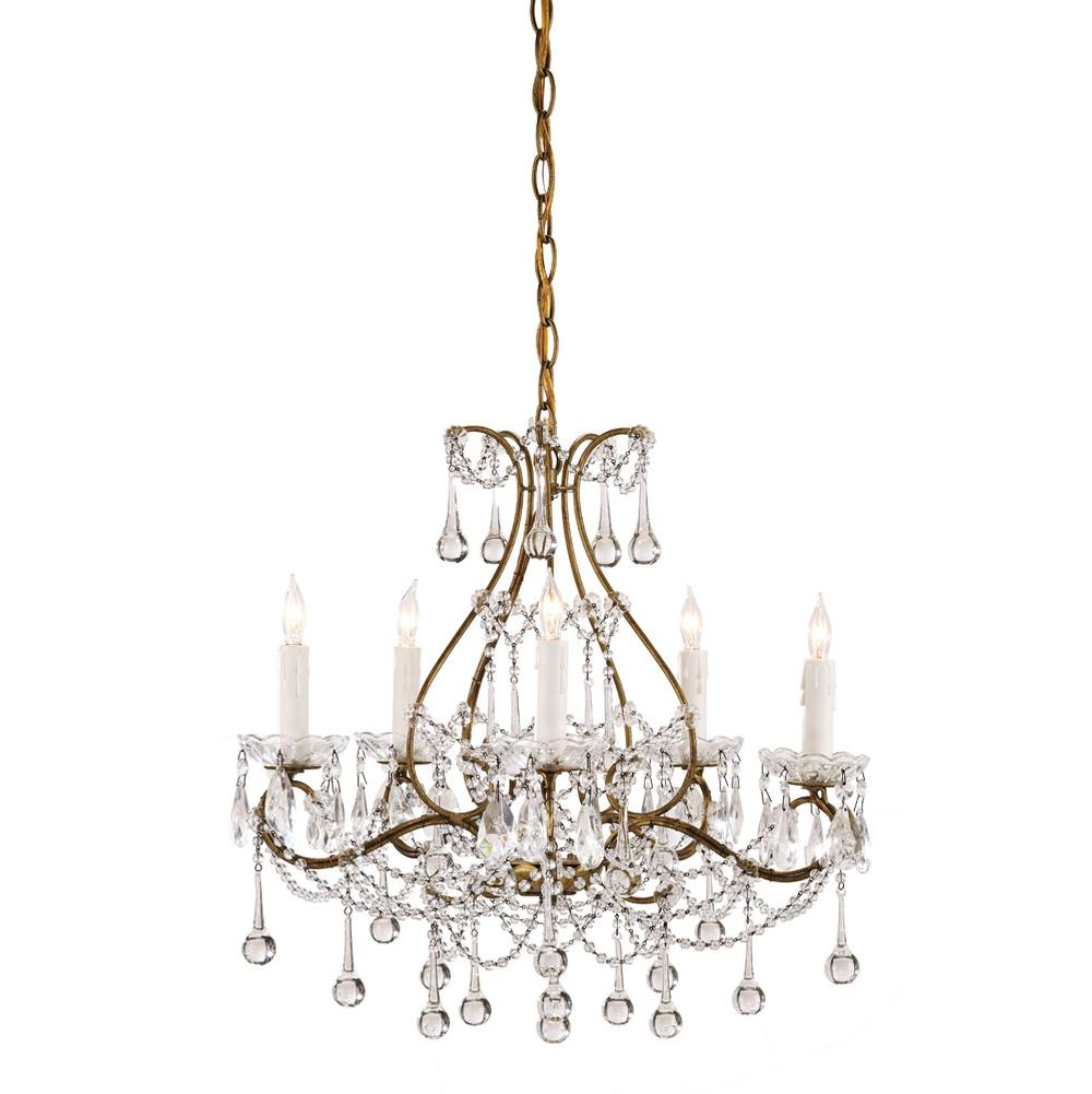 Currey And Company Single Tier Chandeliers item 9008