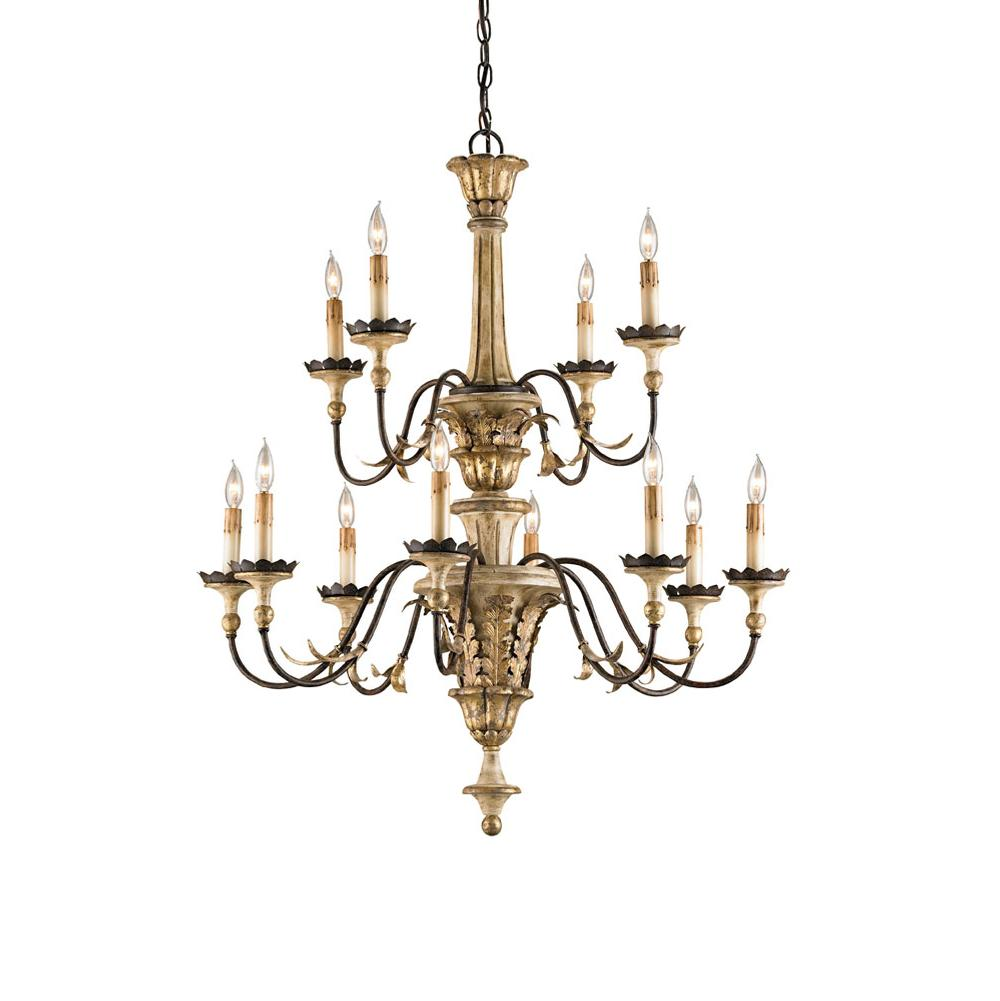 Currey And Company Multi Tier Chandeliers item 9040