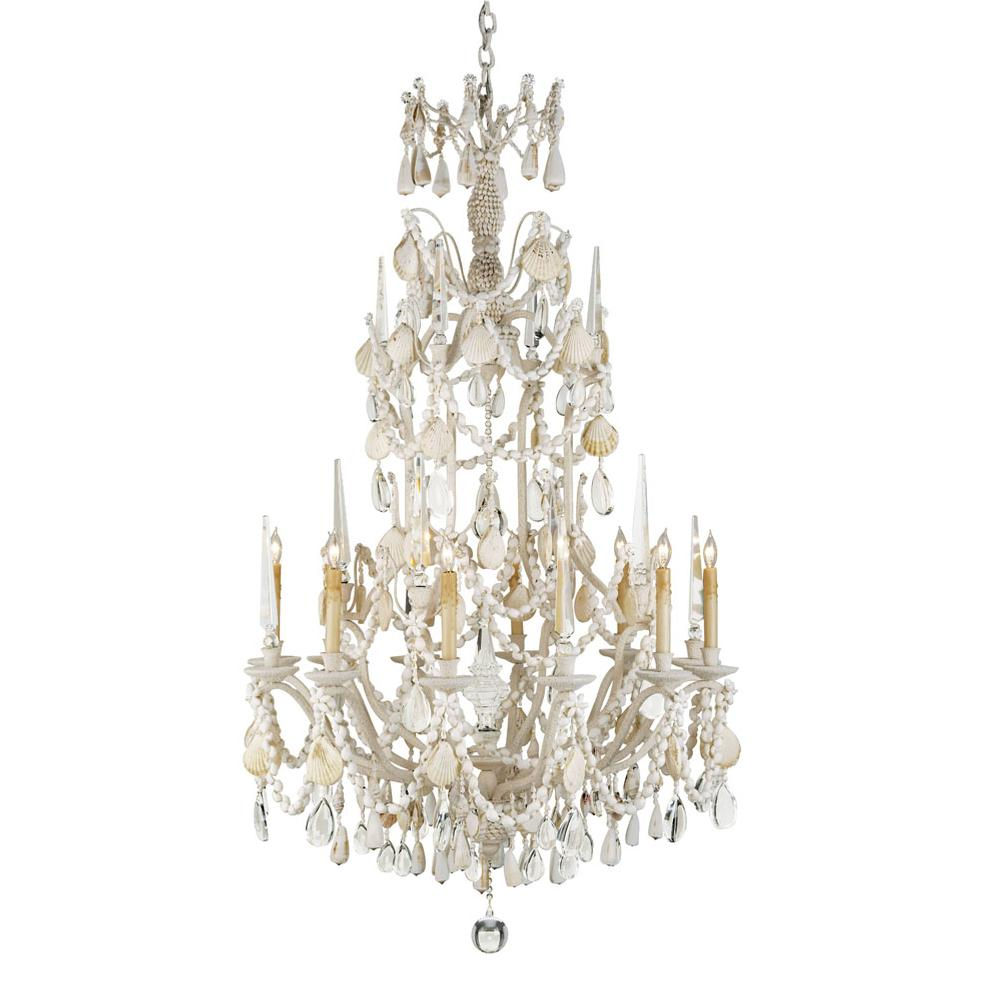 Currey And Company Single Tier Chandeliers item 9085