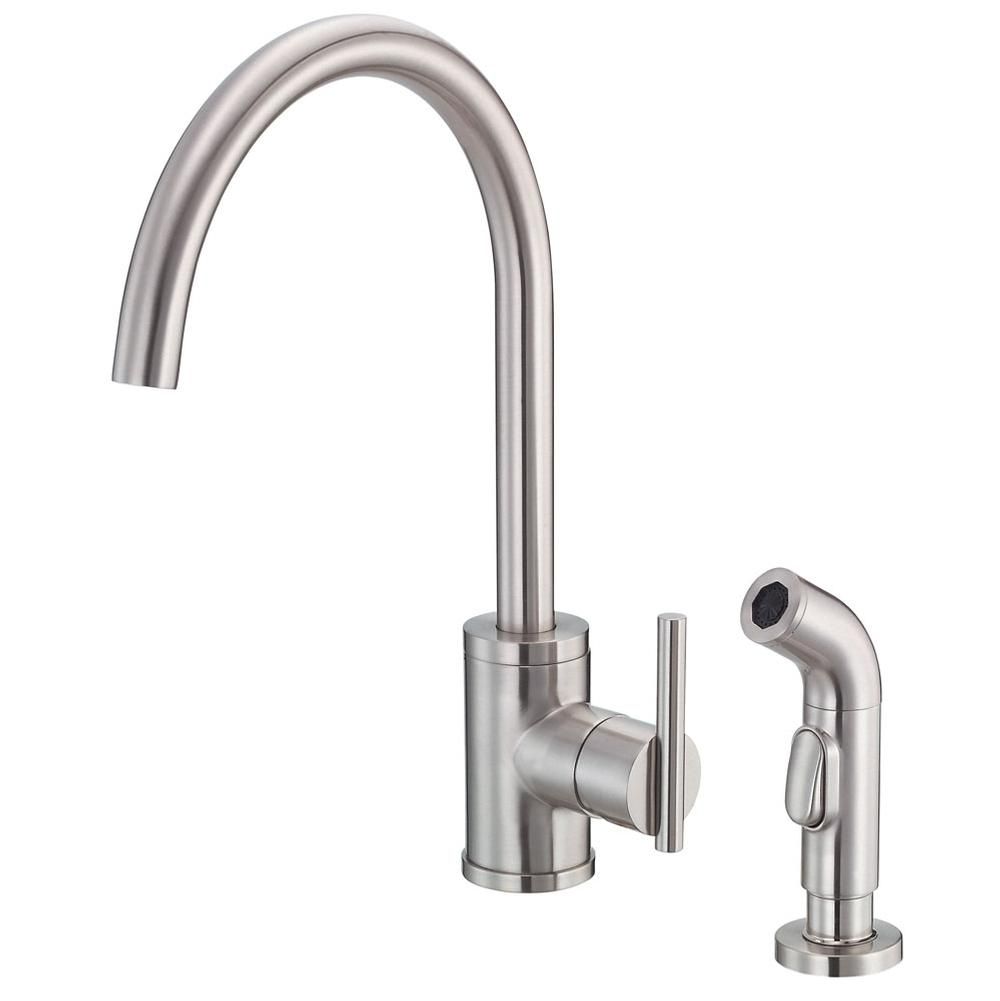 with faucets veggie sirius faucet standard single warm handle danze for kitchen