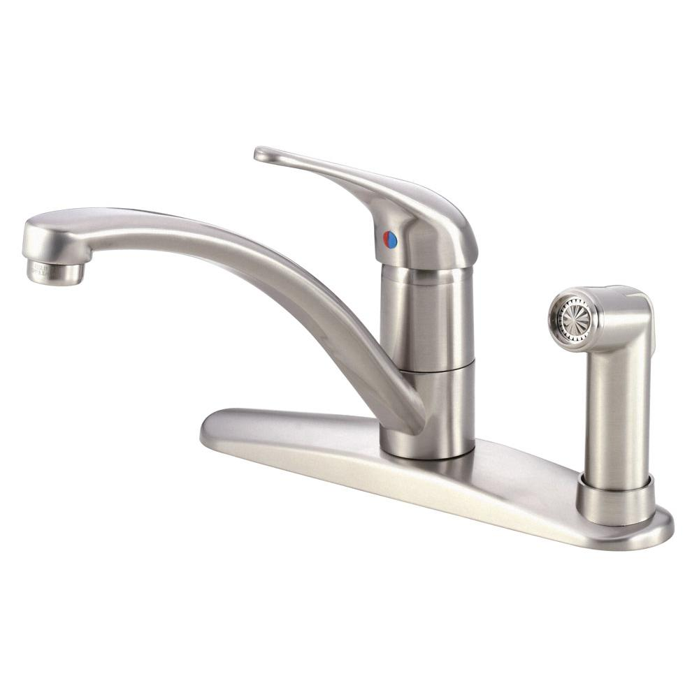 soap kitchen melrose faucets in dispenser faucet with danze handle p out chrome single sprayer pull