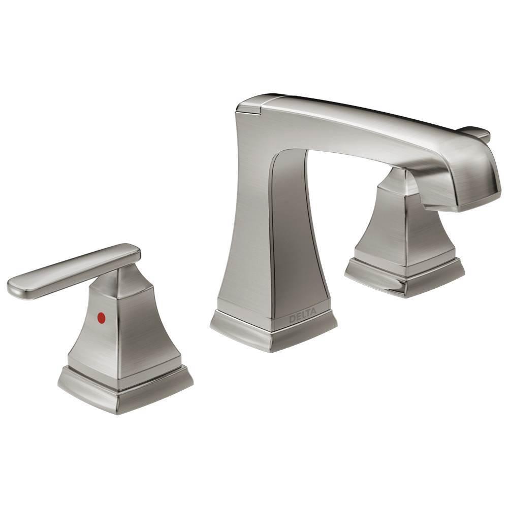 Delta Faucet Widespread Bathroom Sink Faucets Item 3564 SSMPU DST