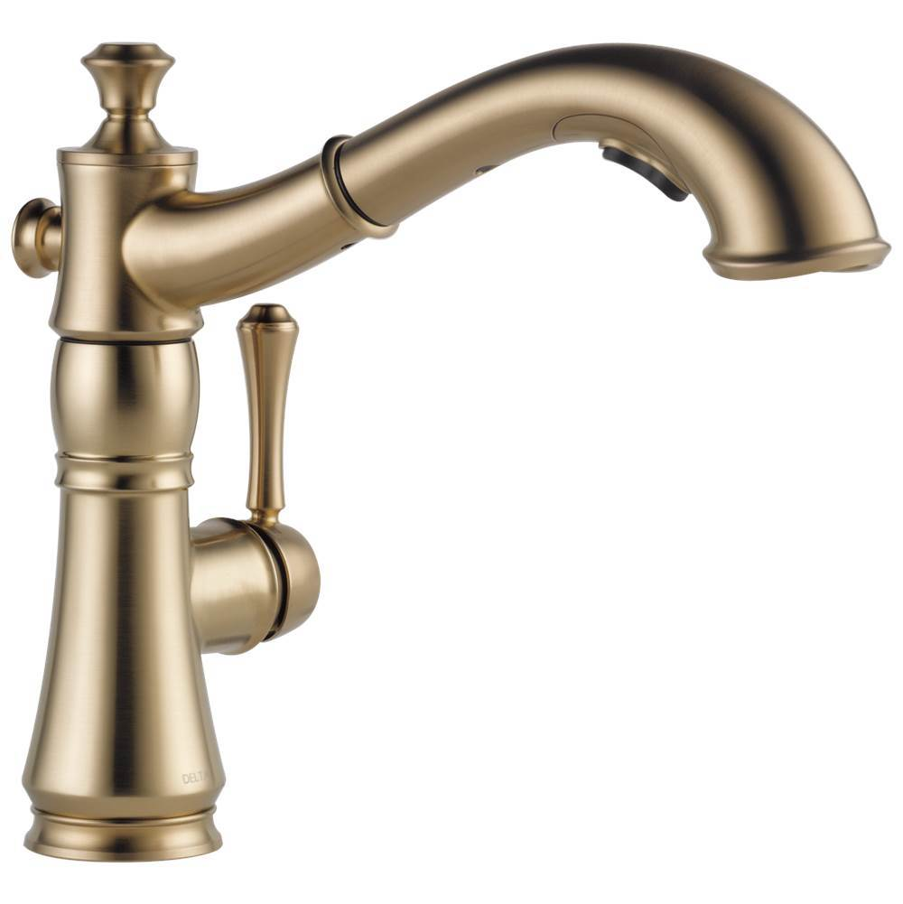 delta faucet faucets kitchen faucets single hole