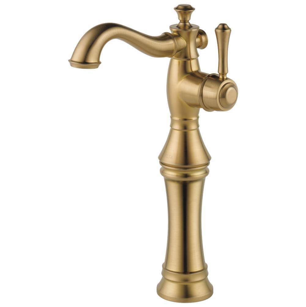 Delta Faucet Bathroom Sink Faucets Champagne Bronze   Kitchens and ...