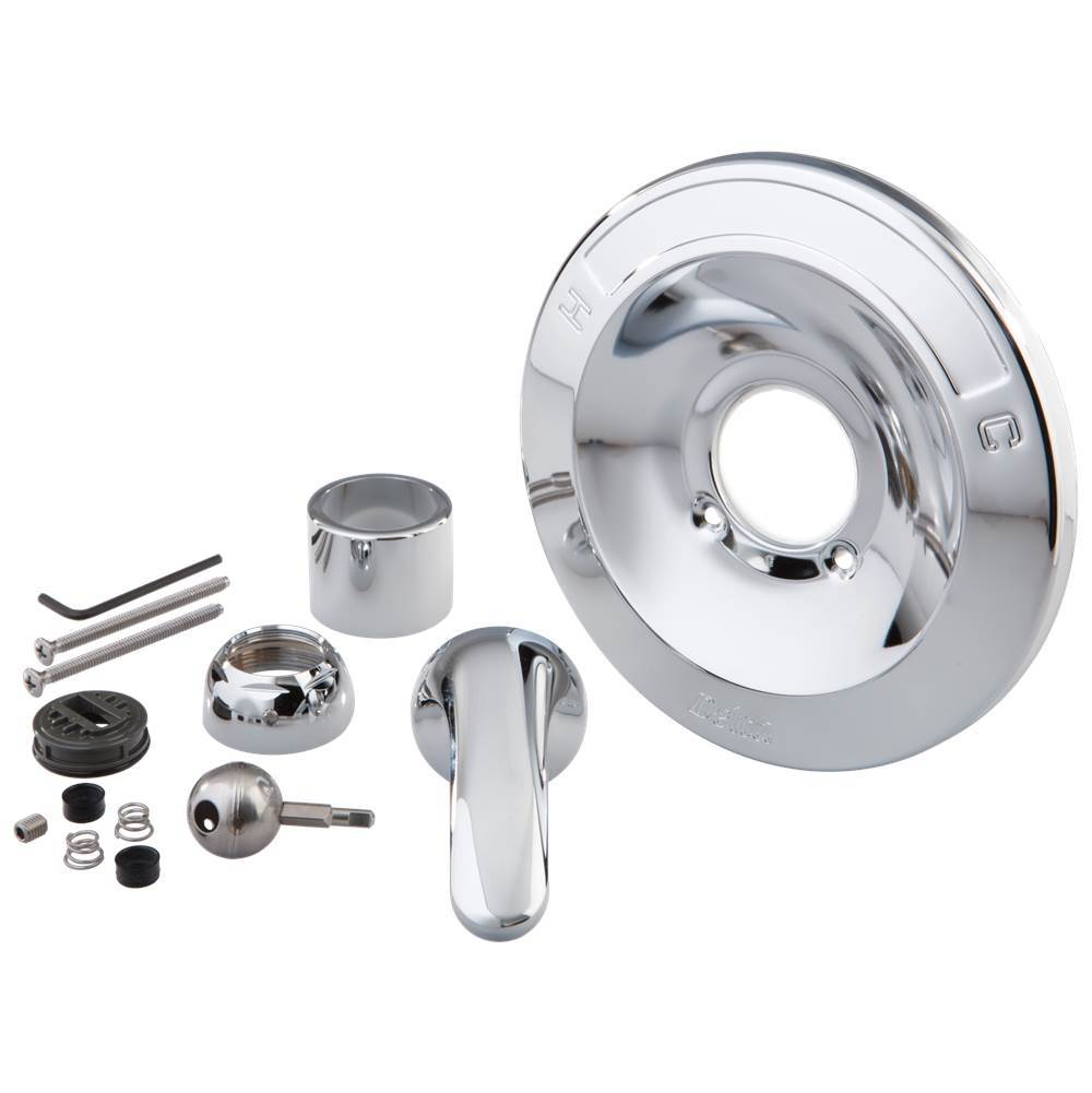 Chrome Delta Faucet RP71252 Nyla Mounting Hardware Kitchen & Bath ...