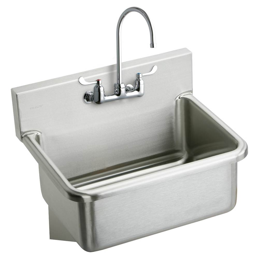 Elkay Wall Mount Laundry And Utility Sinks item EWS3120W4C