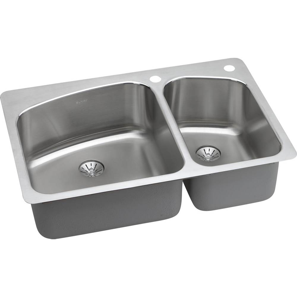 Elkay Undermount Kitchen Sinks item LKHSR2509RPD3