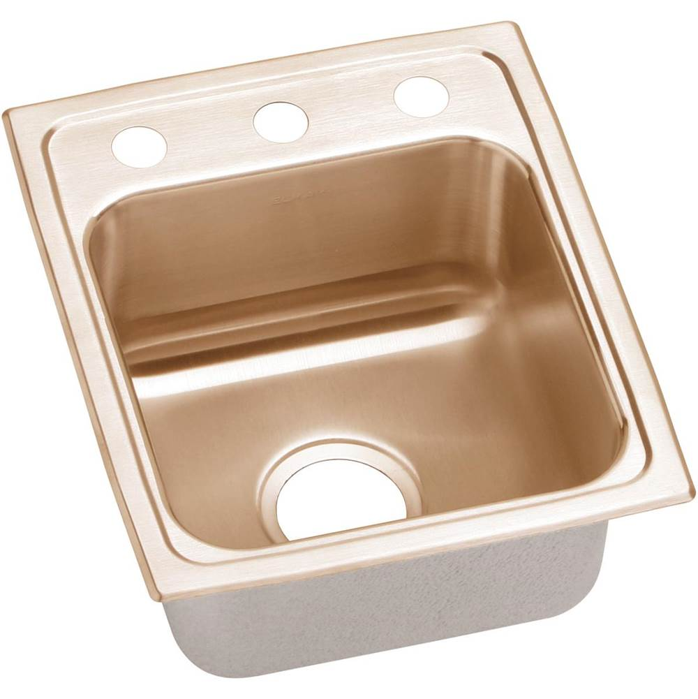 Elkay Drop In Kitchen Sinks item LRAD1316602-CU