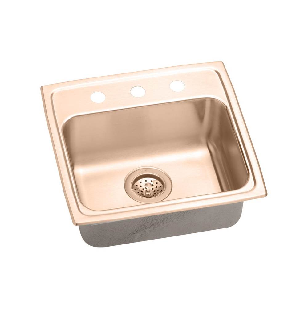 Elkay Drop In Kitchen Sinks item LRAD1918502-CU
