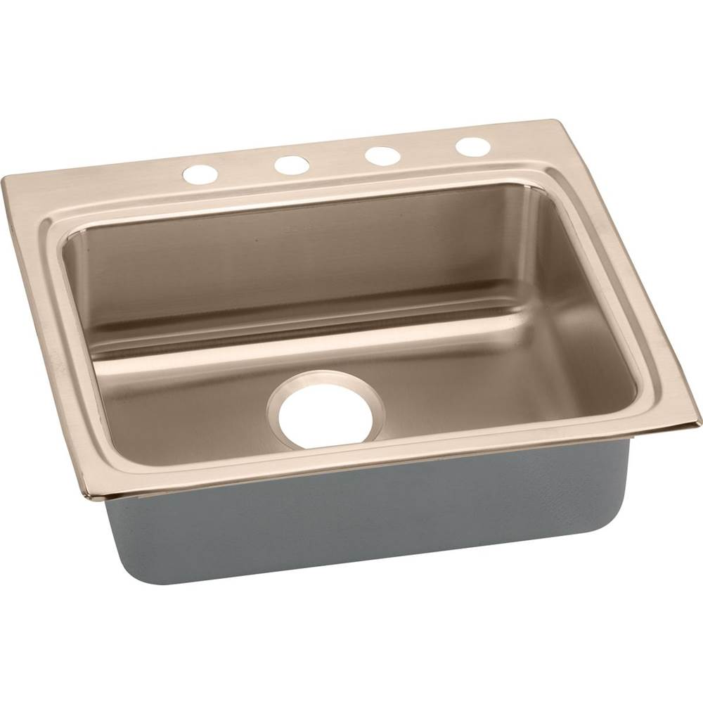 Elkay Drop In Kitchen Sinks item LRAD2522400-CU