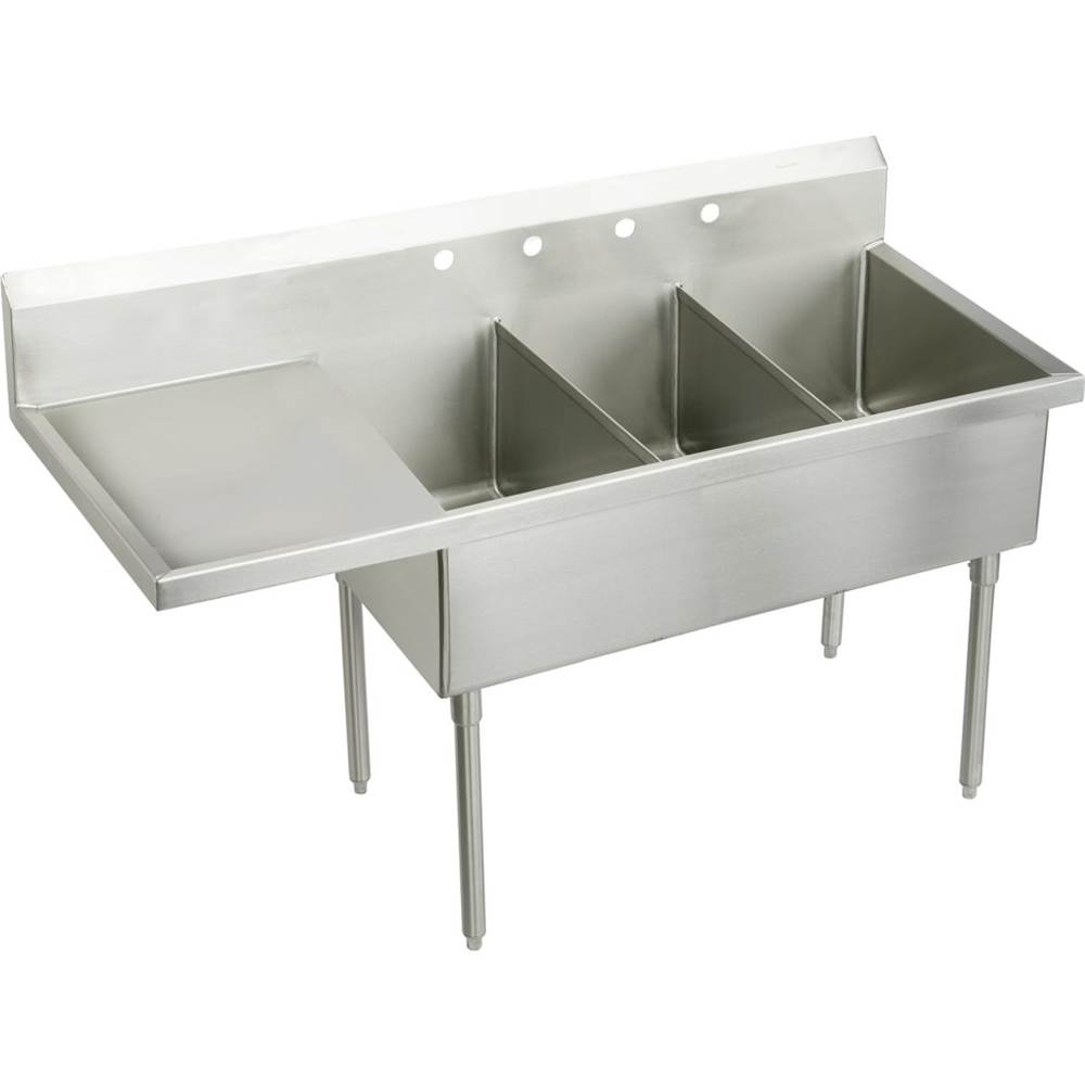 Elkay Console Laundry And Utility Sinks item SS8345L4