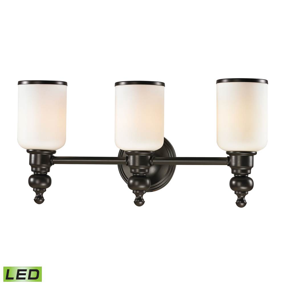 Elk Lighting Three Light Vanity Bathroom Lights item 11592/3-LED