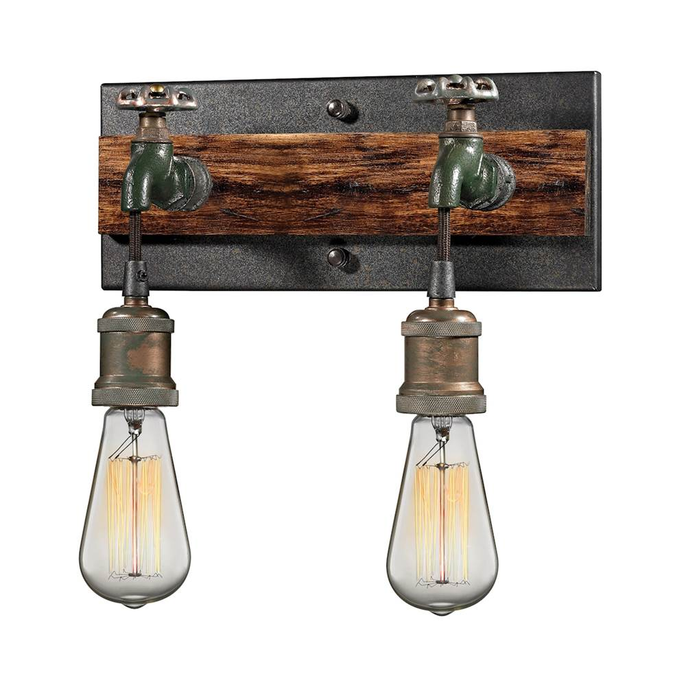 Elk Lighting Two Light Vanity Bathroom Lights item 14281/2