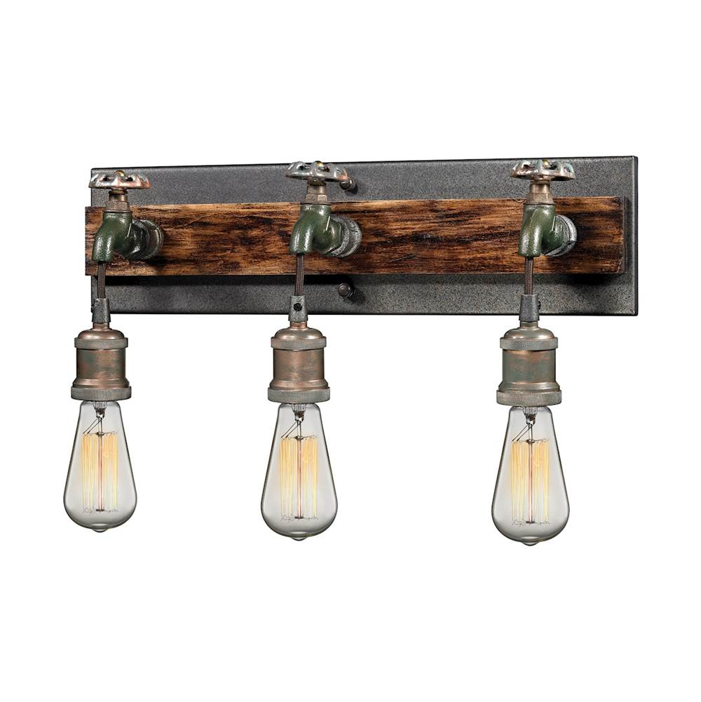 Elk Lighting Three Light Vanity Bathroom Lights item 14282/3
