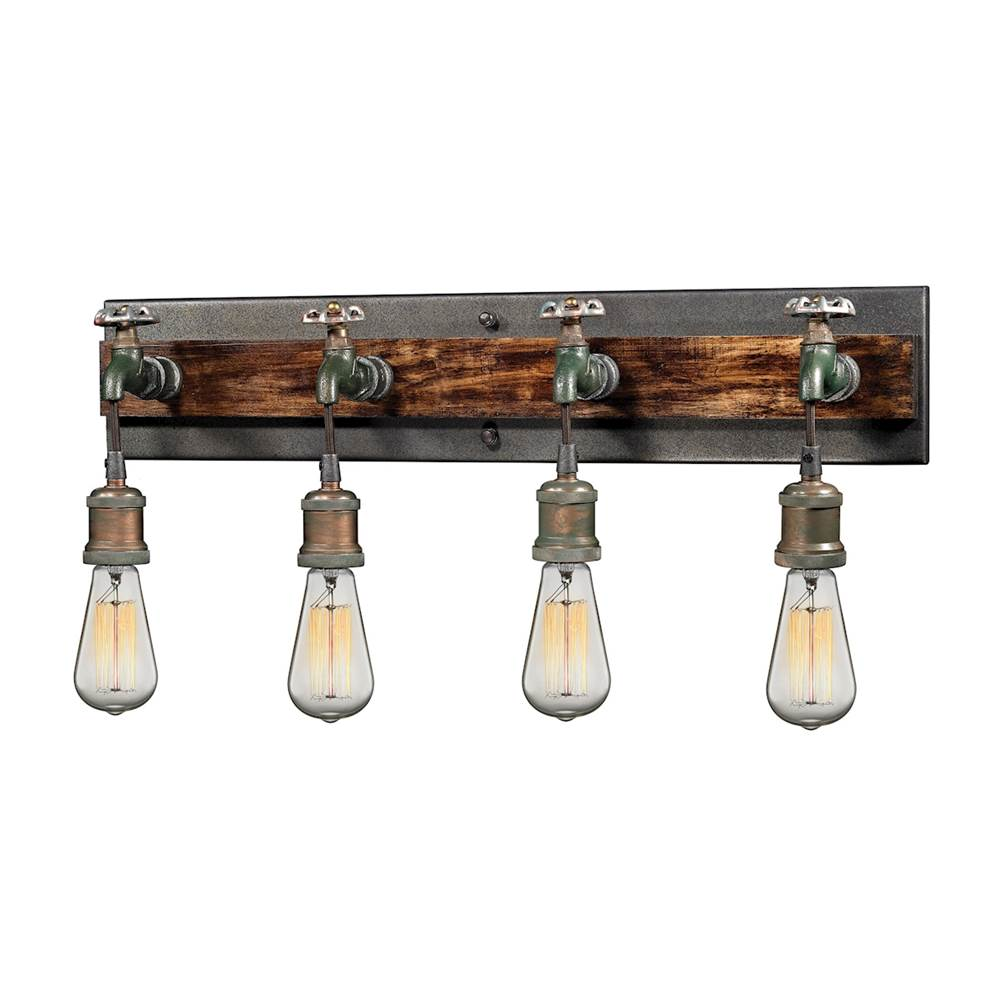 Elk Lighting Four Light Vanity Bathroom Lights item 14283/4