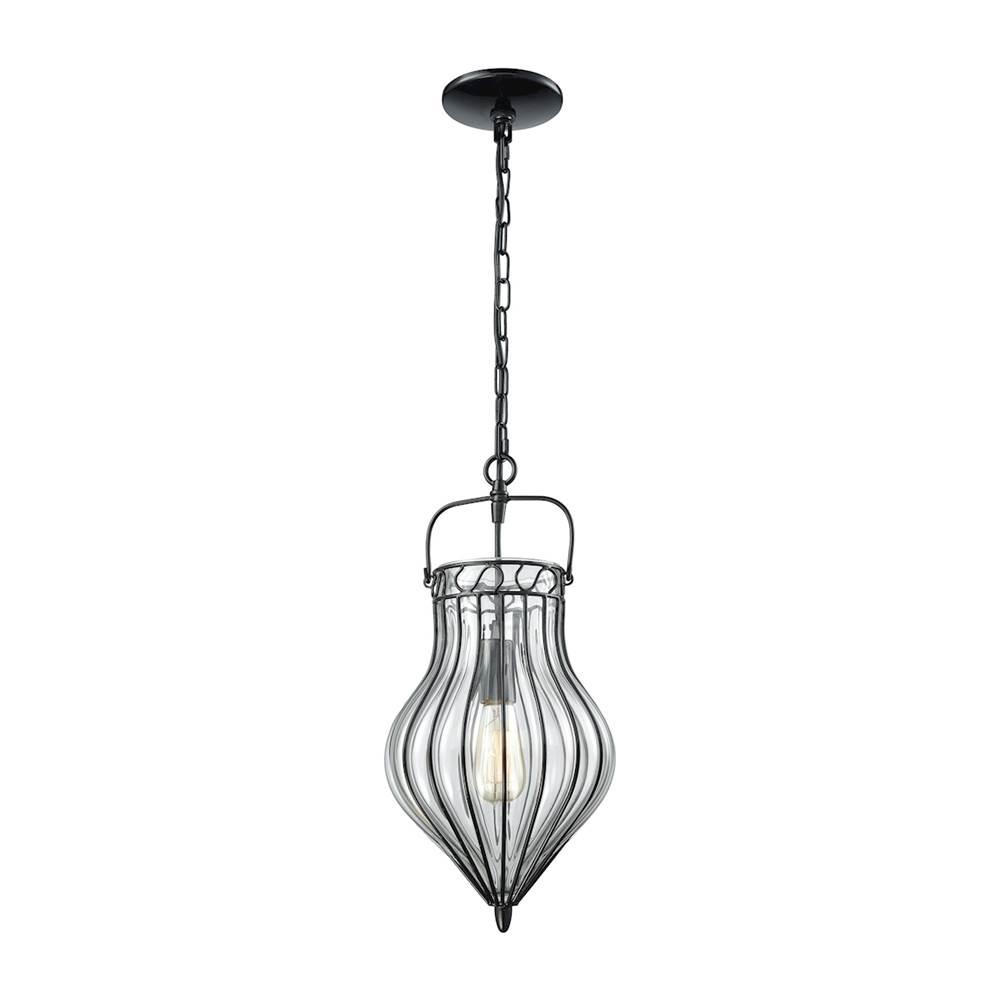 Elk Lighting Harmelin: Indoor Lighting Pendant Lighting Contemporary Black