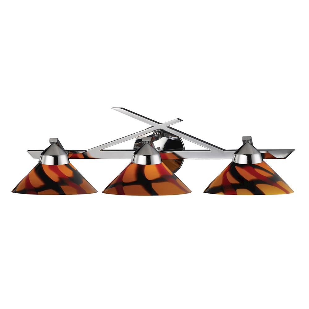 Elk Lighting Three Light Vanity Bathroom Lights item 1472/3JAS