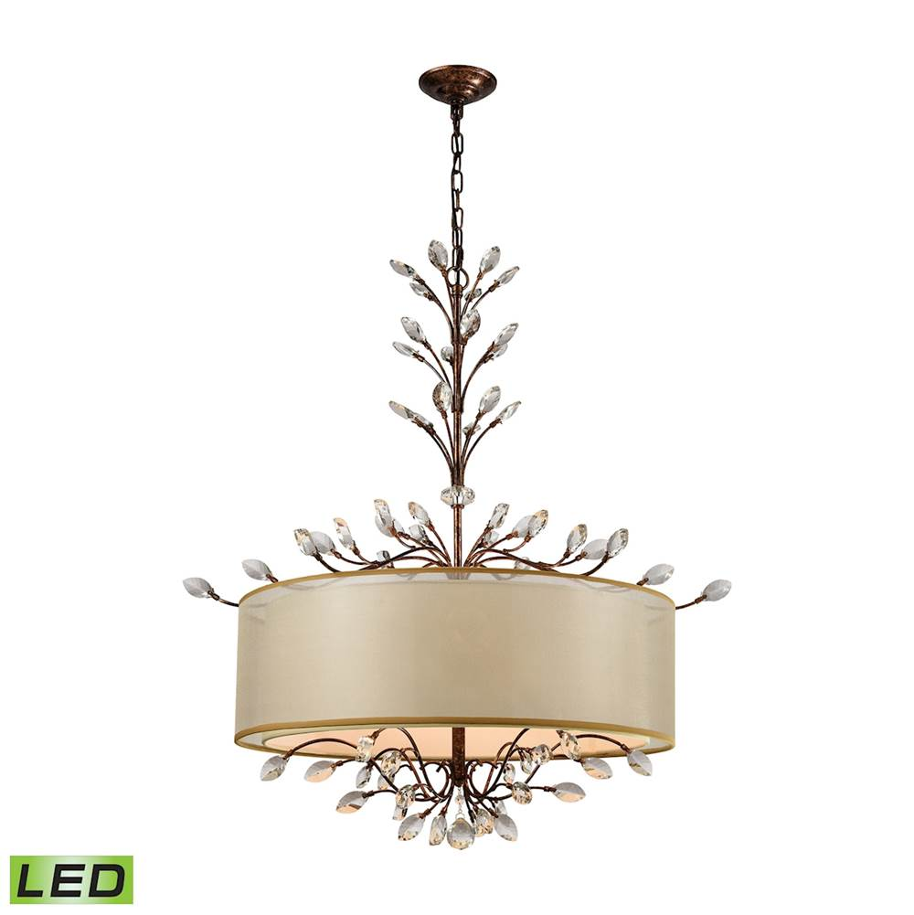 warm tour featured elegance pendant contemporary a world delray hemispheres lighting elk room home by old