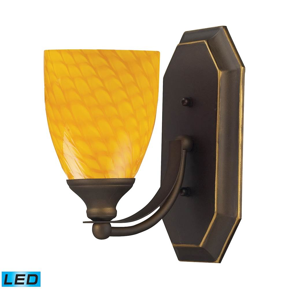 Elk Lighting One Light Vanity Bathroom Lights item 570-1B-CN-LED