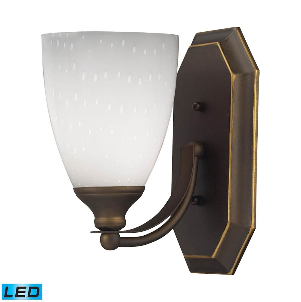 Elk Lighting Bathroom Lights One Light Vanity Bath And Spa Lighting ...