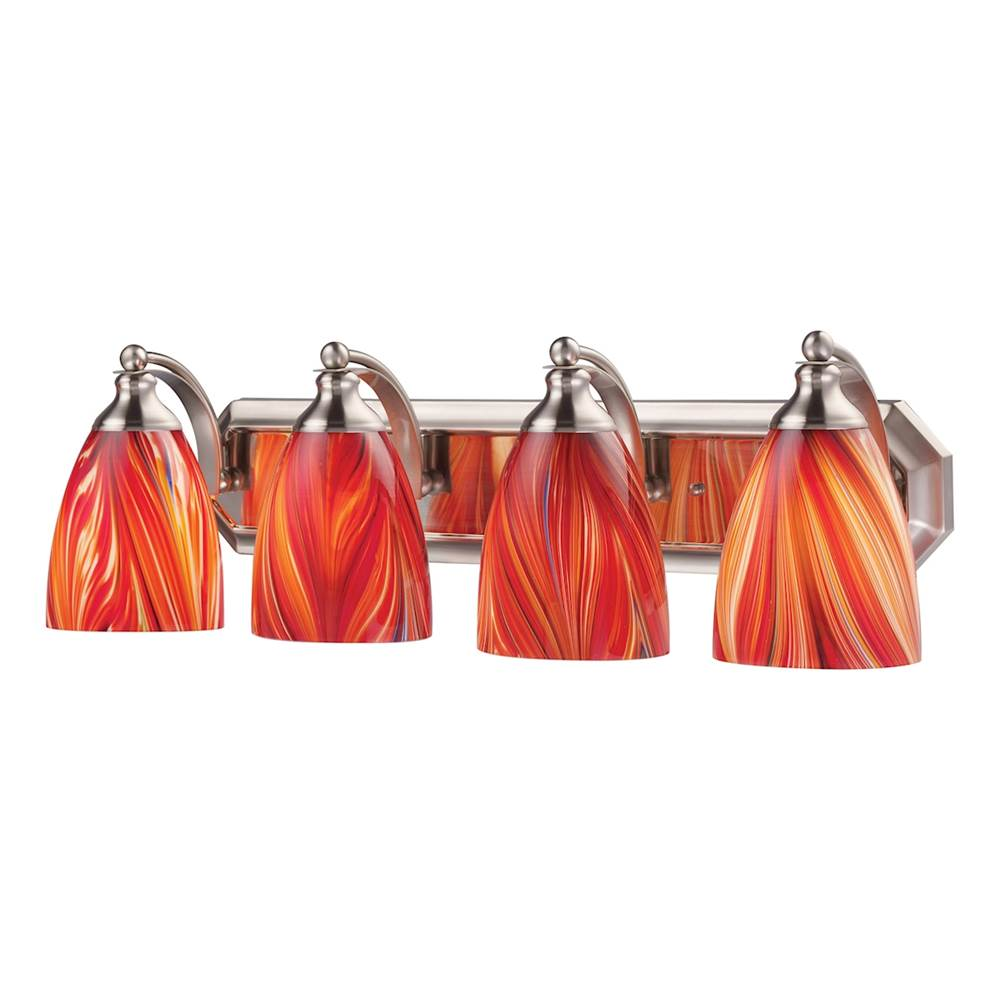 Elk Lighting Four Light Vanity Bathroom Lights item 570-4N-M