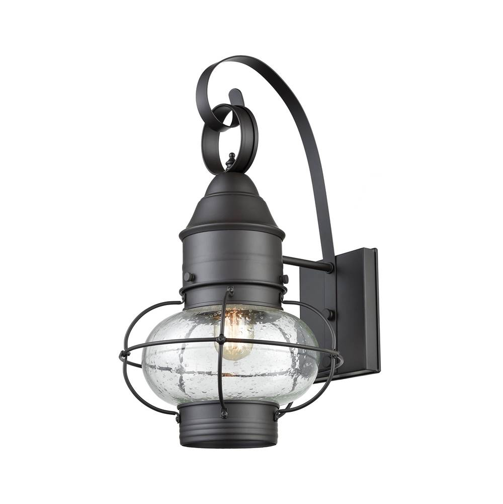 Elk lighting 571811 at kitchens and baths by briggs bath showroom elk lighting 571811 onion 1 outdoor sconce oil rubbed bronze aloadofball Gallery