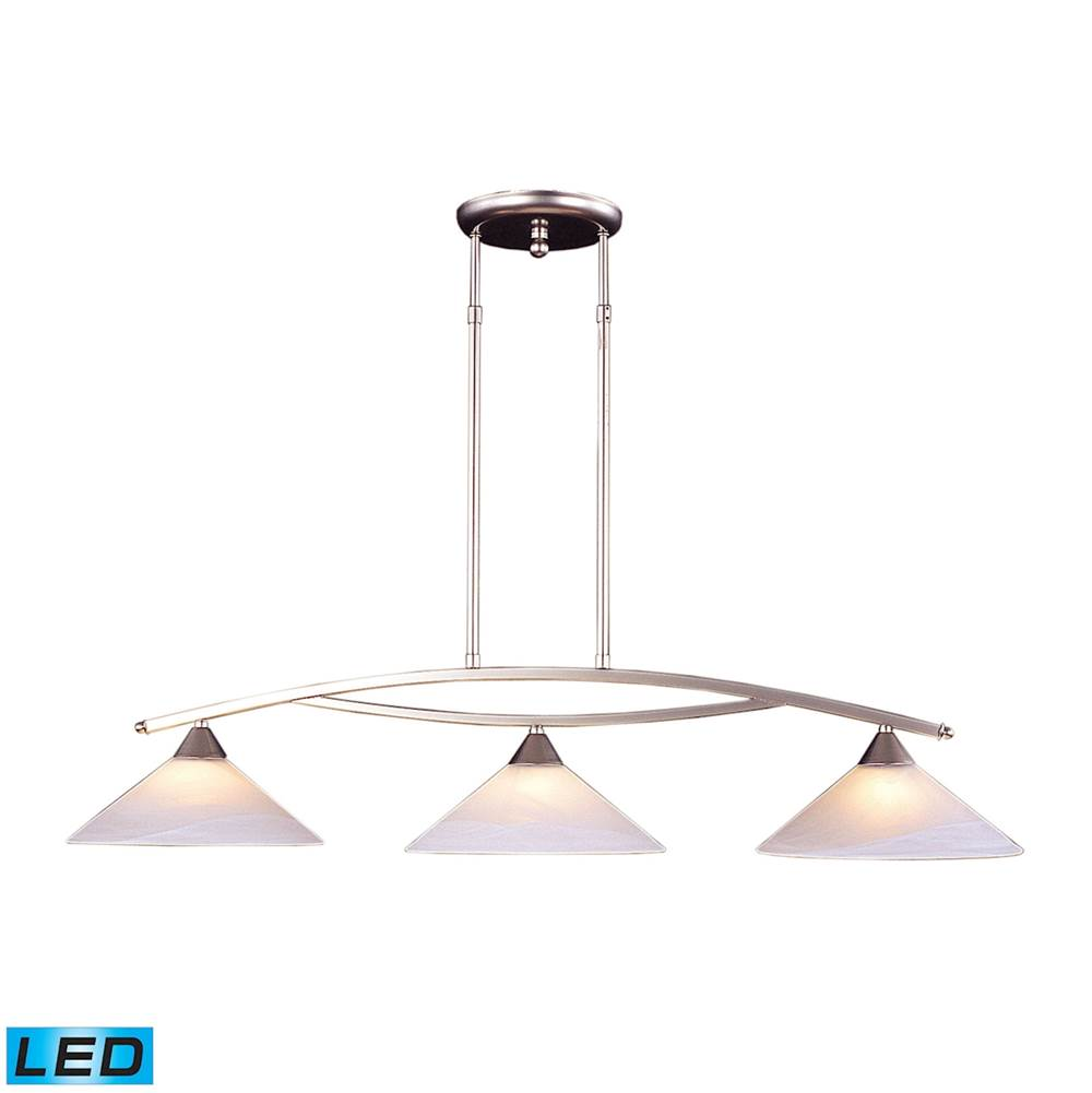 Elk Lighting Linear Chandeliers Chandeliers item 6502/3-LED