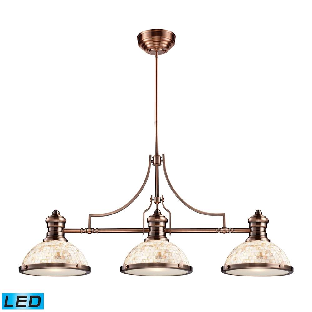 Elk Lighting Linear Chandeliers Chandeliers item 66445-3-LED