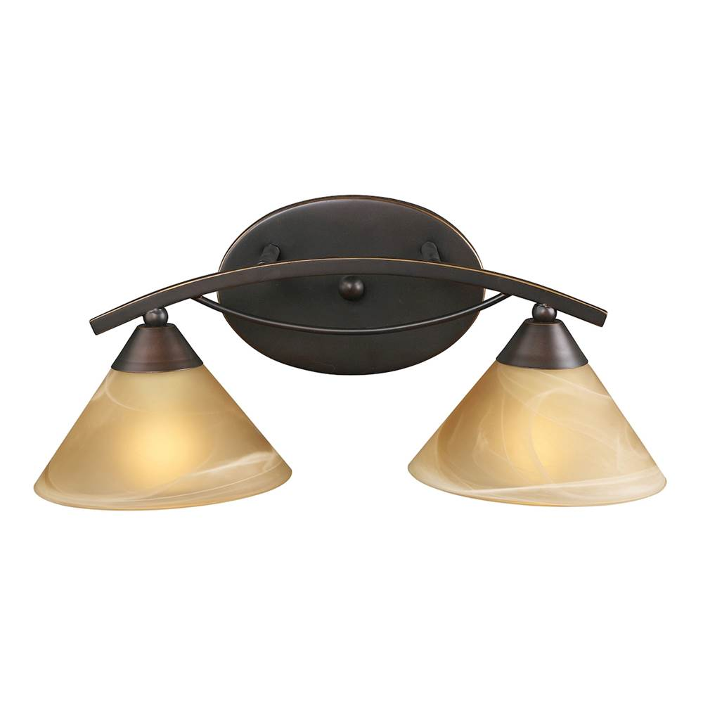 Elk Lighting Two Light Vanity Bathroom Lights item 7641/2