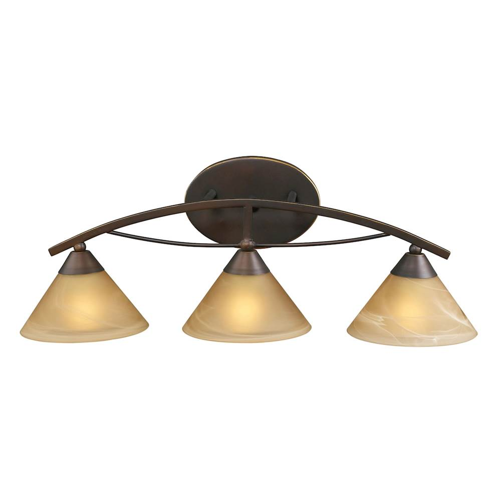 Elk Lighting Three Light Vanity Bathroom Lights item 7642/3