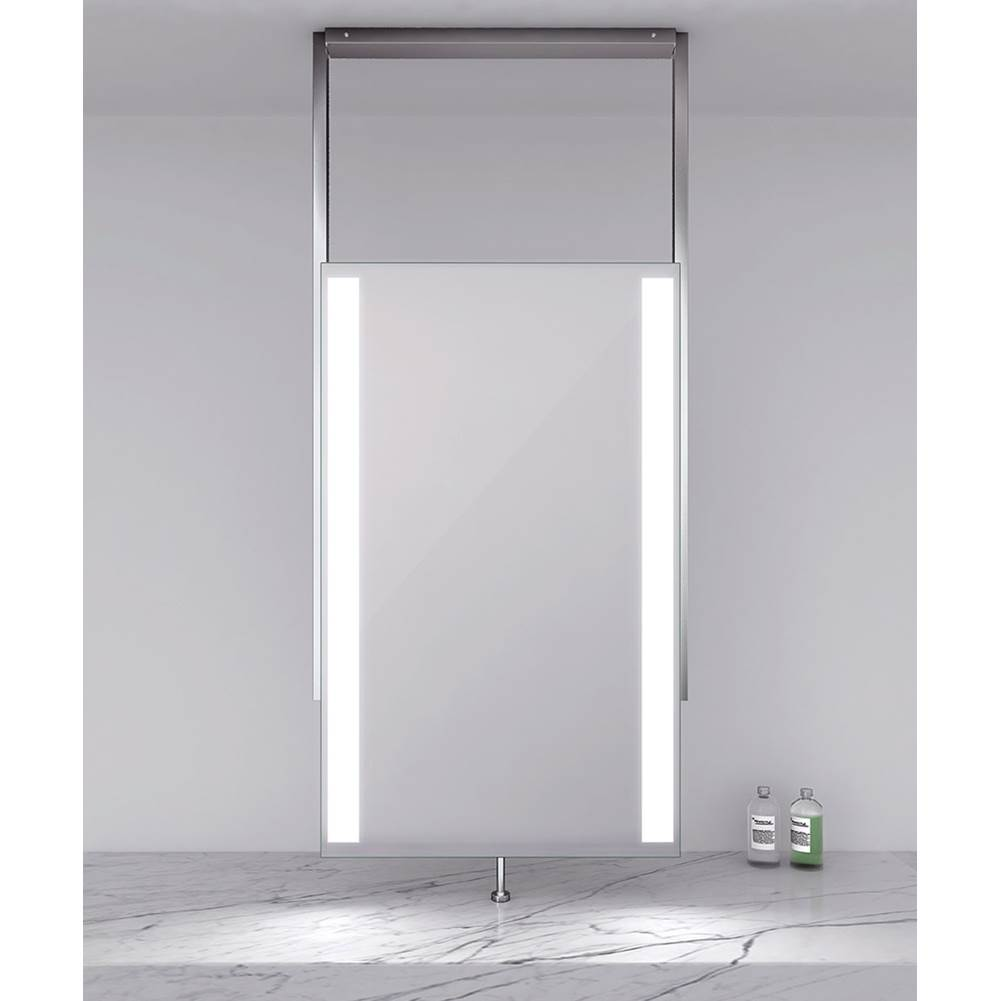 Electric Mirror Rectangle Mirrors item ELE2438-BS