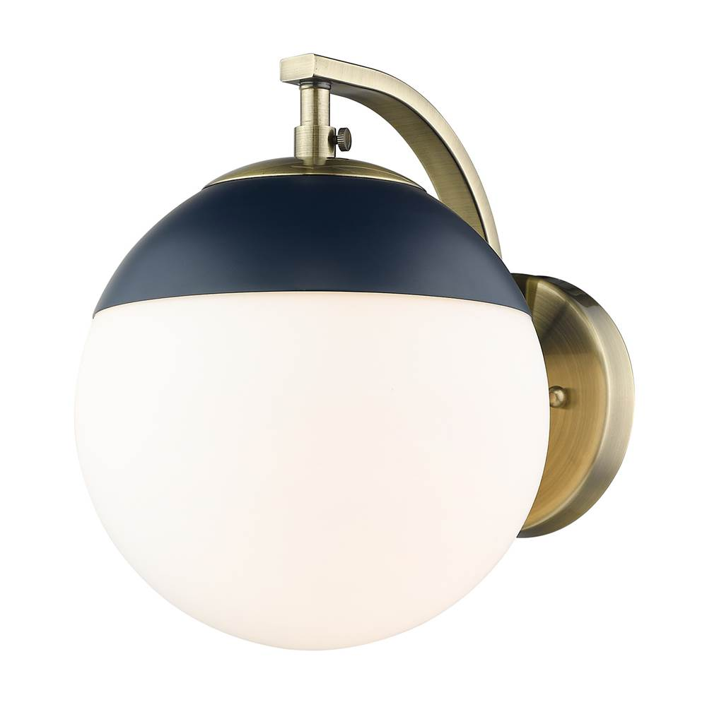 Golden Lighting Sconce Wall Lights item 3218-1W AB-MNVY