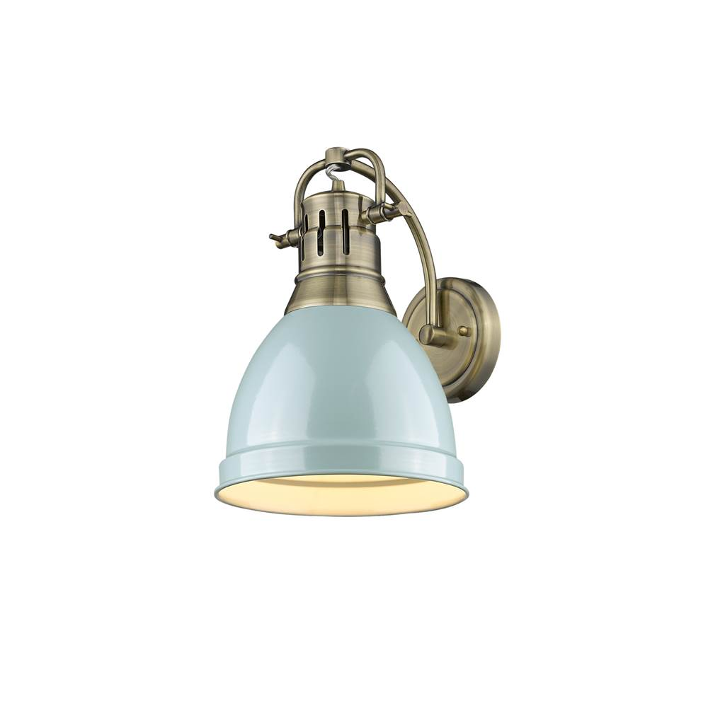 Golden Lighting Sconce Wall Lights item 3602-1W AB-SF