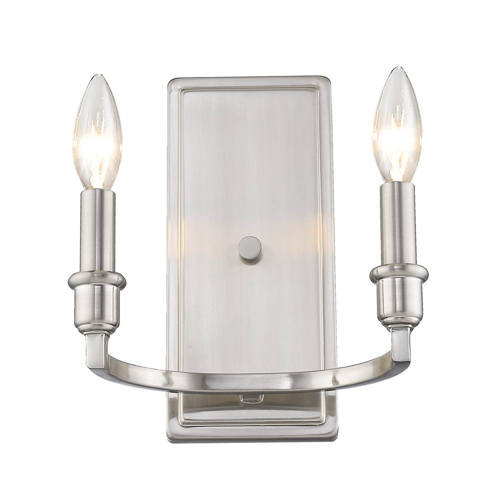 Golden Lighting Sconce Wall Lights item 8209-2W PW